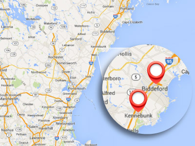 Southern Maine Locations